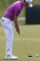 Wesley Bryan (USA) putts on the 3rd green during Friday's Round 2 of the 117th U.S. Open Championship 2017 held at Erin Hills, Erin, Wisconsin, USA. 16th June 2017.<br /> Picture: Eoin Clarke | Golffile<br /> <br /> <br /> All photos usage must carry mandatory copyright credit (&copy; Golffile | Eoin Clarke)