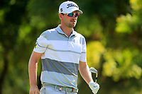 Bernd Wiesberger (AUT) on the 4th tee during the 2nd round of the DP World Tour Championship, Jumeirah Golf Estates, Dubai, United Arab Emirates. 22/11/2019<br /> Picture: Golffile | Fran Caffrey<br /> <br /> <br /> All photo usage must carry mandatory copyright credit (© Golffile | Fran Caffrey)