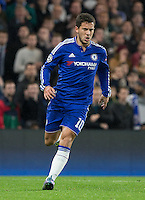 Eden Hazard of Chelsea during the UEFA Champions League Group G match between Chelsea and Dynamo Kyiv at Stamford Bridge, London, England on 4 November 2015. Photo by Andy Rowland.