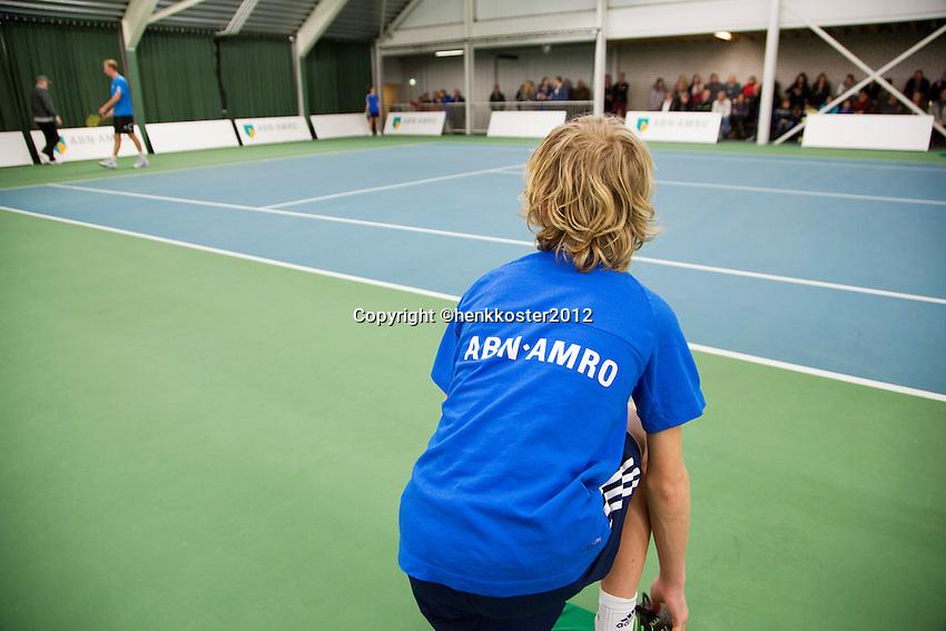 19-01-13, Tennis, Rotterdam, Wildcard for qualification ABNAMROWTT,  Ballboy