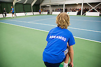 19-01-13, Tennis, Rotterdam, Wildcard for qualification ABNAMROWTT,  Ballboy