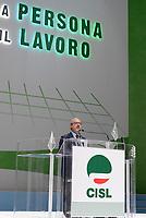 Roma, 29 Giugno 2017<br /> Carmelo Barbagallo.<br /> Palazzo dei Congressi<br /> XVIII Congresso confederale CISL