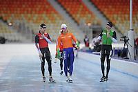 SPEEDSKATING: SOCHI: Adler Arena, 19-03-2013, Training, © Martin de Jong