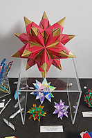 New York, NY, USA - June 24-25, 2017: OrigamiUSA 2017 Convention at St. John's University, Queens, New York, USA. Exhibition of origami in the Sun Yat Sen Memorial building.