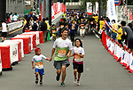 September 30, 2017, Tokyo, Japan - People run for a family run at a charity run for the Special Olympics at Toyota's showroom Mega Web in Tokyo on Saturday, September 30, 2017. Some 1,800 people participated the charity event as Japan's Special Olympic Games will be held in Aichi in 2018.   (Photo by Yoshio Tsunoda/AFLO) LWX -ytd-