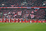 30.11.2019, RheinEnergieStadion, Koeln, GER, 1. FBL, 1.FC Koeln vs. FC Augsburg,<br />  <br /> DFL regulations prohibit any use of photographs as image sequences and/or quasi-video<br /> <br /> im Bild / picture shows: <br /> die Cheerleader des 1. FC Koeln,  vor der Kulisse der Suedkurve<br /> <br /> Foto © nordphoto / Meuter