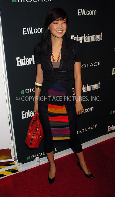 WWW.ACEPIXS.COM . . . . . ....NEW YORK, MARCH 5, 2006....Sujin Pak at the Entertainment Weekly Academy Awards viewing party at Elaine's. ....Please byline: AJ Sokalner - ACEPIXS.COM.... *** ***..Ace Pictures, Inc:  ..Philip Vaughan (212) 243-8787 or (646) 769 0430..e-mail: info@acepixs.com..web: http://www.acepixs.com
