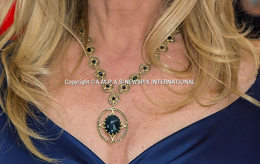 ROSANNA ARQUETTE<br /> <br /> 22.02.2015; Hollywood, California: 87TH OSCARS - OSCARS JEWELLERY<br /> <br /> Celebrity Jewellery seen at the Annual Academy Awards, Dolby Theatre, Hollywood.<br /> Mandatory Photo Credit: NEWSPIX INTERNATIONAL<br /> <br />               **ALL FEES PAYABLE TO: &quot;NEWSPIX INTERNATIONAL&quot;**<br /> <br /> PHOTO CREDIT MANDATORY!!: NEWSPIX INTERNATIONAL(Failure to credit will incur a surcharge of 100% of reproduction fees)<br /> <br /> IMMEDIATE CONFIRMATION OF USAGE REQUIRED:<br /> Newspix International, 31 Chinnery Hill, Bishop's Stortford, ENGLAND CM23 3PS<br /> Tel:+441279 324672  ; Fax: +441279656877<br /> Mobile:  0777568 1153<br /> e-mail: info@newspixinternational.co.uk