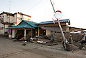 Mar. 13, 2011 - Ibaraki, Japan - A house is shown destroyed in Oarai two days after the 8.9 magnitude earthquake struck followed by a tsunami that hit the north-eastern region. The death toll is currently unknown with casualties that may run well into the thousands.