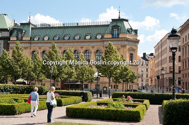 Kungstrad-garden in Stockholm, Sweden