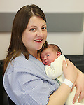 25/12/12    Joseph English from Cappawhite, Co. Tipperary born at 3.54am on Christmas Day in the Regional Maternity Hospital, Limerick.  Joseph weighed in at 3.875 kgs and this picture was taken with mum Elaine seven and a half hours after he was born. Pictures Liam Burke/Press 22