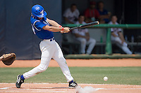 23 August 2007: Third Base #15 Luc Piquet at bat during the France 8-4 victory over Czech Republic in the Good Luck Beijing International baseball tournament (olympic test event) at the Wukesong Baseball Field in Beijing, China.