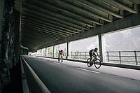 Julien Vermote (BEL/DimensonData)<br /> <br /> Stage 5: Gstaad > Leukerbad (155km)<br /> 82nd Tour de Suisse 2018 (2.UWT)