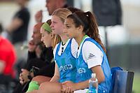 Oceanside, CA - June 22, 2019: U.S. Soccer Development Academy Girl's Showcase at the SoCal Sports Complex.