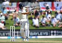 21st November 2019; Mt Maunganui, New Zealand;  England's Joe Denly batting  international test match cricket, Day 1, New Zealand versus England at Bay Oval, Mt Maunganui, New Zealand.