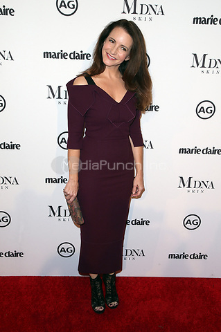 WEST HOLLYWOOD, CA - JANUARY 11: Kristin Davis at Marie Claire's Third Annual Image Makers Awards at Delilah LA in West Hollywood, California on January 11, 2018. Credit: Faye Sadou/MediaPunch