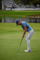 Danny Willett (GBR) watches his putt on 6 during round 2 of the World Golf Championships, Mexico, Club De Golf Chapultepec, Mexico City, Mexico. 2/22/2019.<br /> Picture: Golffile | Ken Murray<br /> <br /> <br /> All photo usage must carry mandatory copyright credit (© Golffile | Ken Murray)