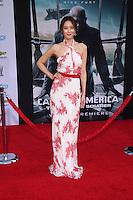 "Claudia Kim<br /> at the ""Captain America: The Winter Soldier"" Los Angeles Premiere, El Capitan, Hollywood, CA 03-13-14<br /> David Edwards/DailyCeleb.com 818-249-4998"