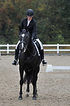 Class 6. Unaffiliated dressage. Brook Farm Training Centre. Essex. UK. 06/10/2018. ~ MANDATORY Credit Garry Bowden/Sportinpictures - NO UNAUTHORISED USE - 07837 394578