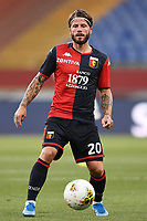 Lasse Schone of Genoa during the Serie A football match between Genoa CFC and SSC Napoli stadio Marassi in Genova ( Italy ), July 08th, 2020. Play resumes behind closed doors following the outbreak of the coronavirus disease. <br /> Photo Matteo Gribaudi / Image / Insidefoto