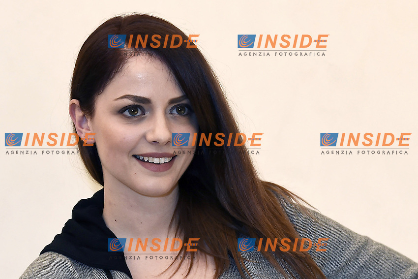 Annalisa Scarrone <br /> Milano 25-11-2016 - photocall trasmissione Tv 'Tutta colpa di Galileo' / foto Daniele Buffa/Image/Insidefoto