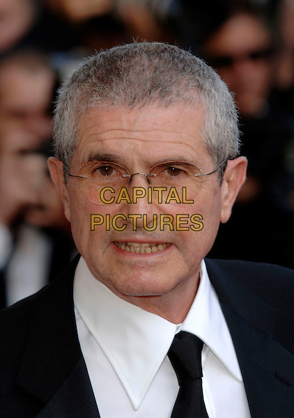 "CLAUDE LELOUCHE.""The Da Vinci Code"" world film premiere at the 59th International Cannes Film Festival, Cannes, France..17th May 2006.Ref: PL.headshot portrait glasses.www.capitalpictures.com.sales@capitalpictures.com.©Phil Loftus/Capital Pictures"