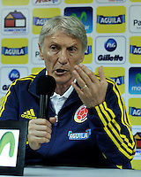Rueda de Prensa Jose Pekerman / Press Conference Jose Pekerman 10-06-2013