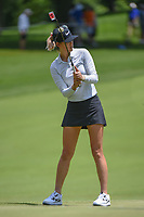 Michelle Wie (USA) watches her putt on 10 during round 1 of the 2018 KPMG Women's PGA Championship, Kemper Lakes Golf Club, at Kildeer, Illinois, USA. 6/28/2018.<br /> Picture: Golffile | Ken Murray<br /> <br /> All photo usage must carry mandatory copyright credit (&copy; Golffile | Ken Murray)