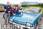 Martin and Kathy Scanlon and Betty and Moss Gaire and their 1972 Ford Capri at the Killarney Vintage rally on Sunday