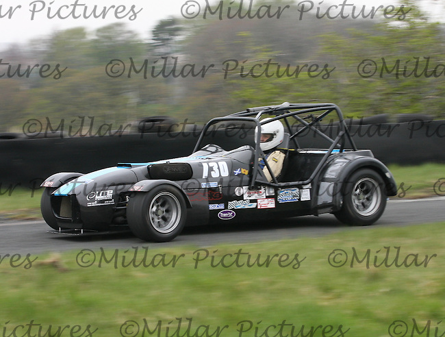 Stephen Alexander driving a Westfield SEiW in the Machars Car Club organised Kames Sprint, a round of the 2013 Guyson Scottish Sprint, 2013 Guyson Scottish Speed, 2013 MJ Engineering Speed and the 2013 Service Hydraulics Speed Championships held at the Kames Motorsport Complex, Muirkirk on 19.5.13.
