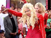 NEW YORK, NY - August 14, 2012: Nicki Minaj performs on NBC's Today Show Toyota Concert Series at Rockefeller Center in New York City. © RW/MediaPunch Inc. /NortePhoto.com<br /> <br /> **SOLO*VENTA*EN*MEXICO**<br />  **CREDITO*OBLIGATORIO** *No*Venta*A*Terceros*<br /> *No*Sale*So*third* ***No*Se*Permite*Hacer Archivo***No*Sale*So*third*