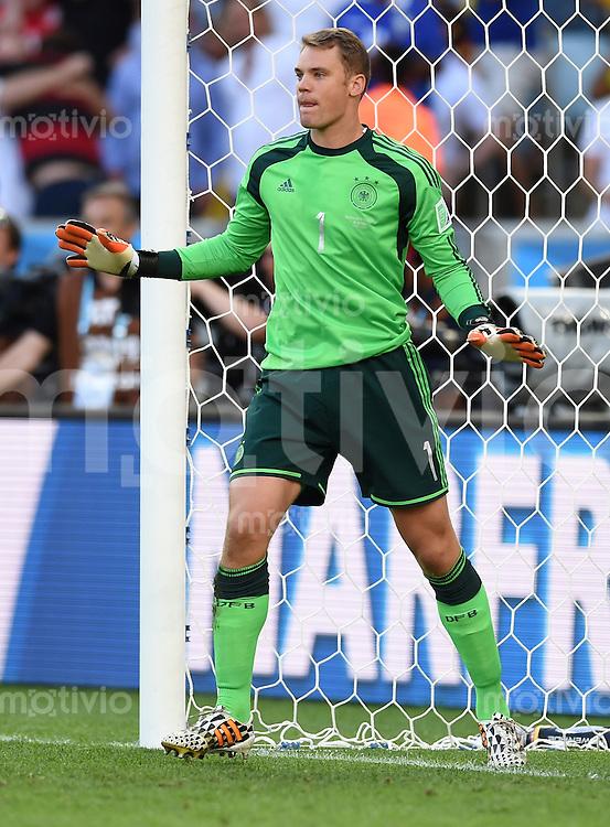 FUSSBALL WM 2014                FINALE Deutschland - Argentinien     13.07.2014 Torwart Manuel Neuer (Deutschland)