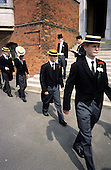 "The Annual Speech Day ""School Bill"" parade at Harrow School"