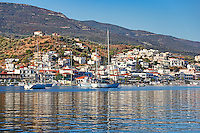 The beautiful Galatas across Poros island, Greece