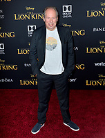 "LOS ANGELES, USA. July 10, 2019: Hans Zimmer at the world premiere of Disney's ""The Lion King"" at the Dolby Theatre.<br /> Picture: Paul Smith/Featureflash"