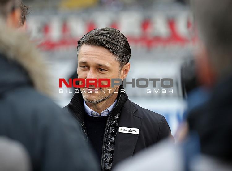 18.02.2017, Commerzbank - Arena, Frankfurt, GER, 1.FBL, Eintracht Frankfurt vs FC Ingolstadt 04<br /> Trainer Niko Kovac (Frankfurt)<br /> Foto &copy; nordphoto / Bratic