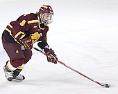 Joe Van Culin - The Boston College Eagles and Ferris State Bulldogs tied at 3 in the opening game of the Denver Cup on Friday, December 30, 2005, at Magness Arena in Denver, Colorado.  Boston College won the shootout to determine which team would advance to the Final.