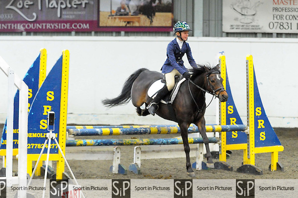 Class 2. 80cm. Newhall Schools inter school showjumping. Norton Heath Equestrian Centre. Essex. 27/05/2014. MANDATORY Credit Ellie Ingram/Sportinpictures - NO UNAUTHORISED USE - 07837 394578