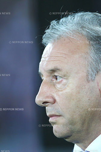 Alberto Zaccheroni (JPN),<br /> SEPTEMBER 10, 2013 - Football / Soccer :<br /> Japan's head coach Alberto Zaccheroni before the Kirin Challenge Cup 2013 match between Japan 3-1 Ghana at Nissan Stadium in Kanagawa, Japan. (Photo by Kenzaburo Matsuoka/AFLO)