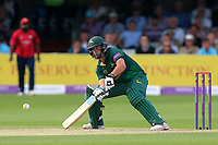 Steven Mullaney in batting action for Notts during Essex Eagles vs Notts Outlaws, Royal London One-Day Cup Semi-Final Cricket at The Cloudfm County Ground on 16th June 2017
