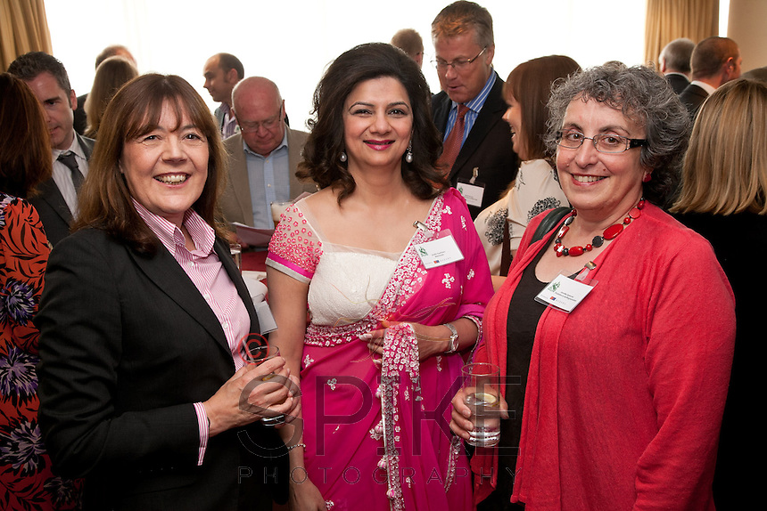 Pictured from left are Lorraine Teague of Integra, Anita Sawhney of MemSaab and Jennifer Spencer of Experience Nottinghamshire
