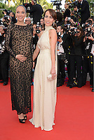 "Carmen Chaplin and  Dolores Chaplin attending the ""Madagascar III"" Premiere during the 65th annual International Cannes Film Festival in Cannes, France, 18.05.2012..Credit: Timm/face to face/MediaPunch Inc. ***FOR USA ONLY***"