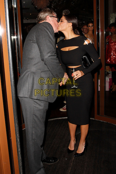 LONDON, ENGLAND - OCTOBER 02 :  Jim Davidson and Casey Batchelor attend the Casey Batchelor - birthday party at the Sanctum Soho Hotel on October 02, 2014 in London, England.<br /> CAP/AH<br /> &copy;Adam Houghton/Capital Pictures