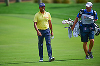 Anirban Lahiri (IND) approaches the number 2 green during round 3 of the Honda Classic, PGA National, Palm Beach Gardens, West Palm Beach, Florida, USA. 2/25/2017.<br /> Picture: Golffile | Ken Murray<br /> <br /> <br /> All photo usage must carry mandatory copyright credit (&copy; Golffile | Ken Murray)