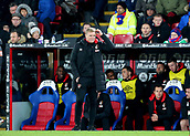 9th December 2017, Selhurst Park, London, England; EPL Premier League football, Crystal Palace versus Bournemouth; Bournemouth Manager Eddie Howe reacts as his team lose possession