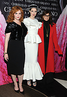 NEW YORK, NY - NOVEMBER 08: Christina Hendricks, Coco Rocha and Gina Gershon attend the release of Christian Siriano's  book 'Dresses To Dream About' at the Rizzoli Flagship Store on November 8, 2017 in New York City.  <br /> CAP/MPI/JP<br /> &copy;JP/MPI/Capital Pictures