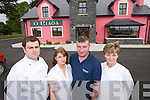 Riadas Bar Ballymacelligott Feature Pictured outside.ORiadas Bar are.James Stack, Sarah.and Denis Reidy.and Ann Marie.Reidy Mangan.