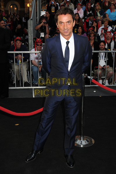 "BRUNO TONIOLI.""Pirates Of The Caribbean: On Stranger Tides"" World Premiere held at Disneyland, Anaheim, California, USA..May 7th, 2011.full length black blue suit white shirt.CAP/ADM/BP.©Byron Purvis/AdMedia/Capital Pictures."