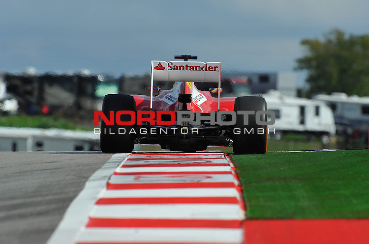15.-17.11.2013, Circuit of The Americas, Austin, USA, FIA, Formel 1, United States Grand Prix, Qualifikation, im Bild  Fernando Alonso (ESP),  Scuderia Ferrari <br />  Foto &copy; nph / Mathis