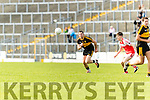 Daithí Casey Dr Crokes in action against Tom Leo O'Sullivan Dingle in the Senior County Football Semi Final in Fitzgerald Stadium on Sunday.